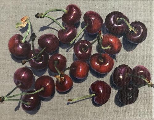9-6, AcrylLW, 14 x 18 cm, 2020